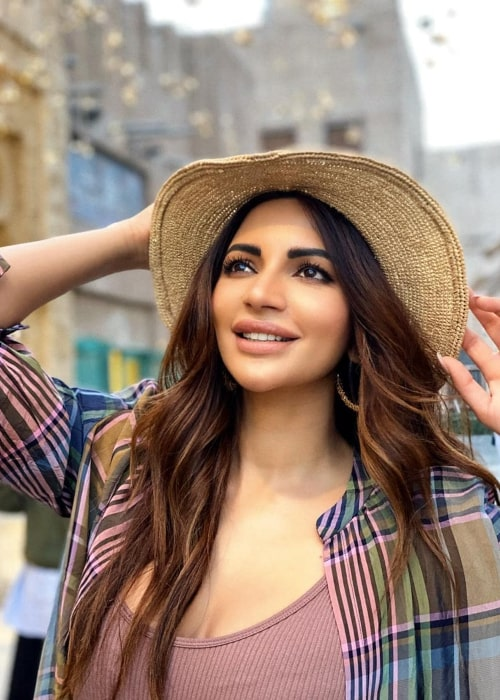 Shama Sikander as seen in an Instagram Post in April 2020