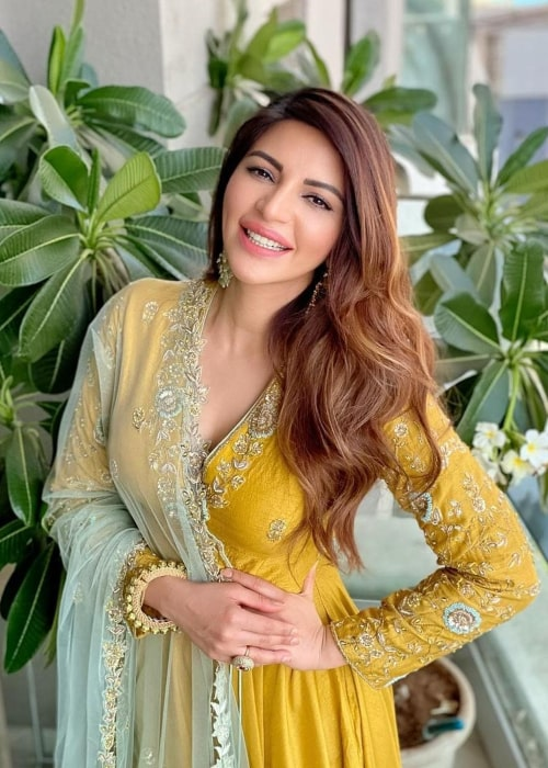 Shama Sikander as seen in an Instagram Post in May 2020