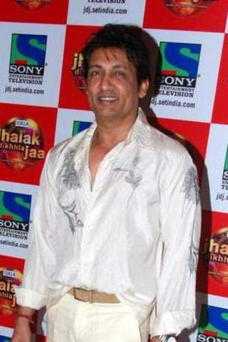 Shekhar Suman pictured at 'Jhalak Dikhla Jaa' bash