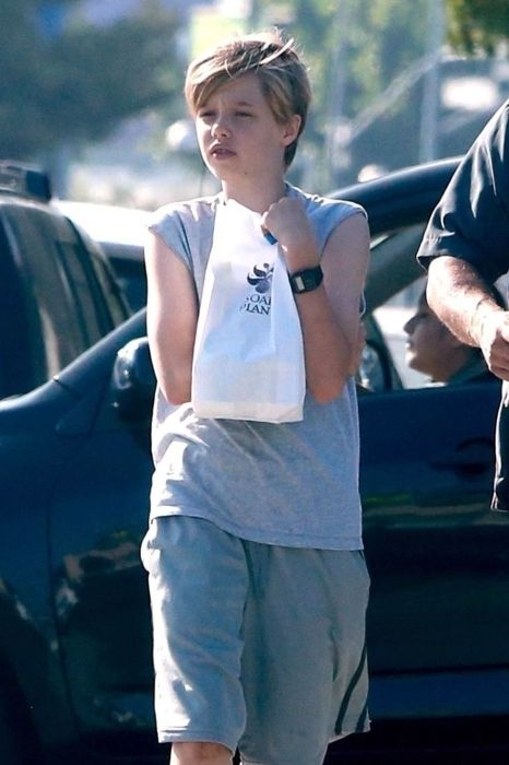 Shiloh Jolie-Pitt seen as a teenager