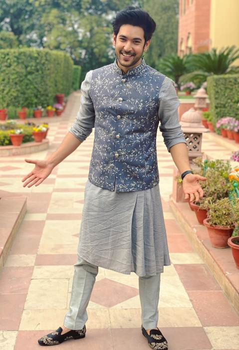 Shivin Narang as seen while posing for a picture in Manesar, India in February 2020