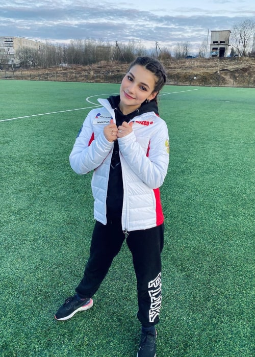 Sofia Samodurova as seen in an Instagram Post in May 2020