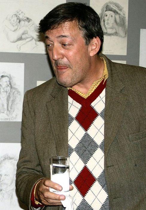 Stephen Fry as seen in 2009