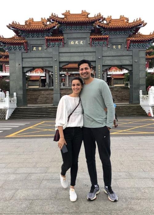 Sumeet Vyas and Ekta Kaul, as seen in September 2019