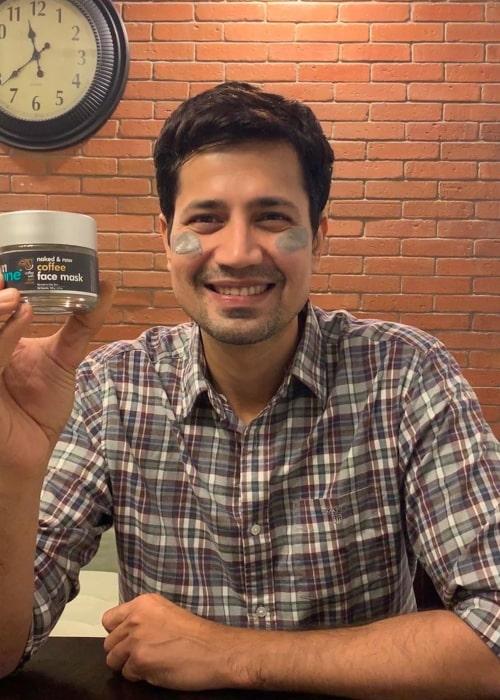 Sumeet Vyas as seen in an Instagram Post in January 2020