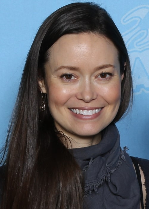 Summer Glau as seen in a picture that was taken at the GalaxyCon Louisville in 2019