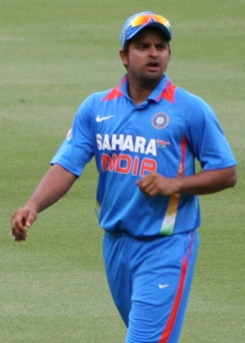 Suresh Raina as seen in February 2012