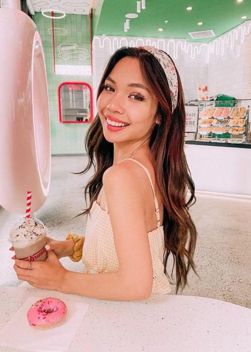 Tiffany Ma as seen in an Instagram Post in March 2020