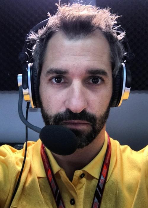 Timo Glock in an Instagram selfie from September 2018