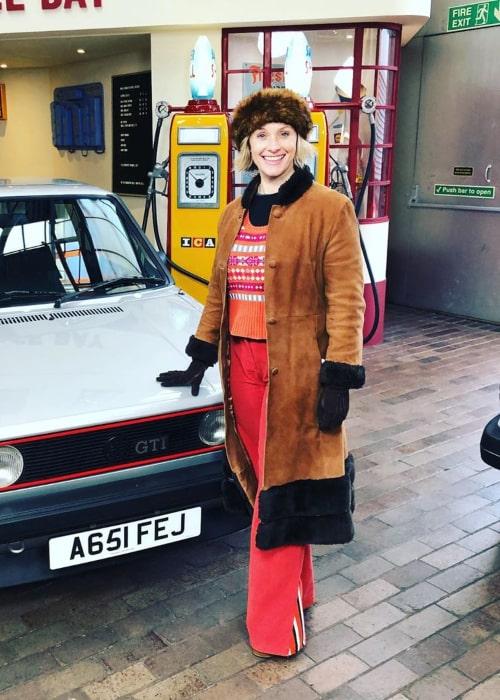Vicki Butler-Henderson as seen in an Instagram Post in May 2019