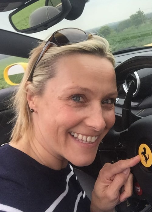 Vicki Butler-Henderson in an Instagram selfie from April 2017