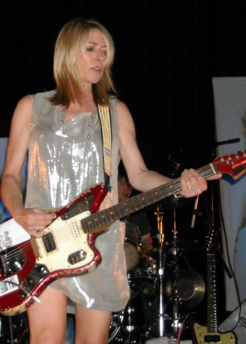 Vocalist of Sonic Youth Kim Gordon