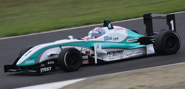 Yuji Kunimoto en route to his fourth successive victory of the 2010 All-Japan Formula Three season at Motegi