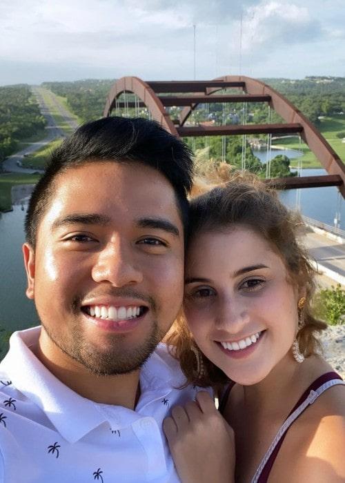 iiFNaTiK and Susana Parra Congote as seen in July 2020