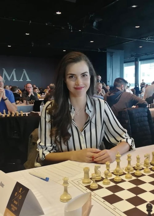 Alexandra Botez as seen in an Instagram Post in April 2019