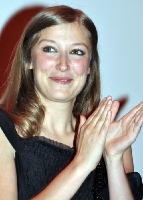 Alexandra Maria Lara at the premiere of the film 'L'Affaire Farewell' in 2009