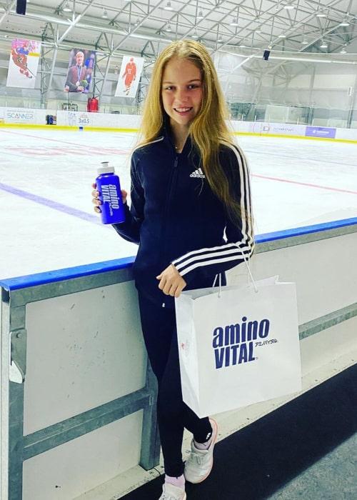 Alexandra Trusova as seen in an Instagram Post in July 2020