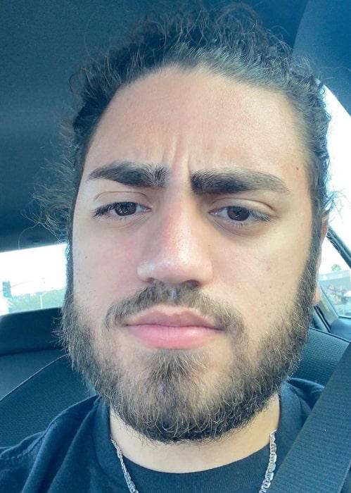 Ali Gatie in March 2020