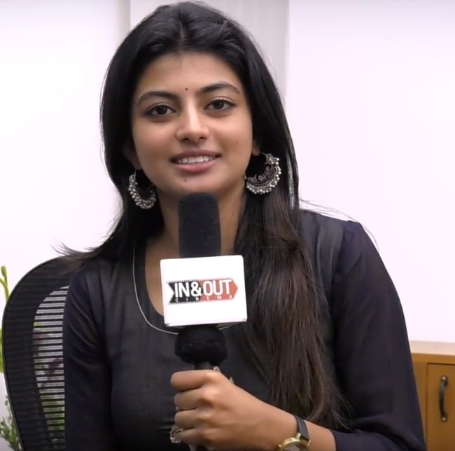 Anandhi in August 2017