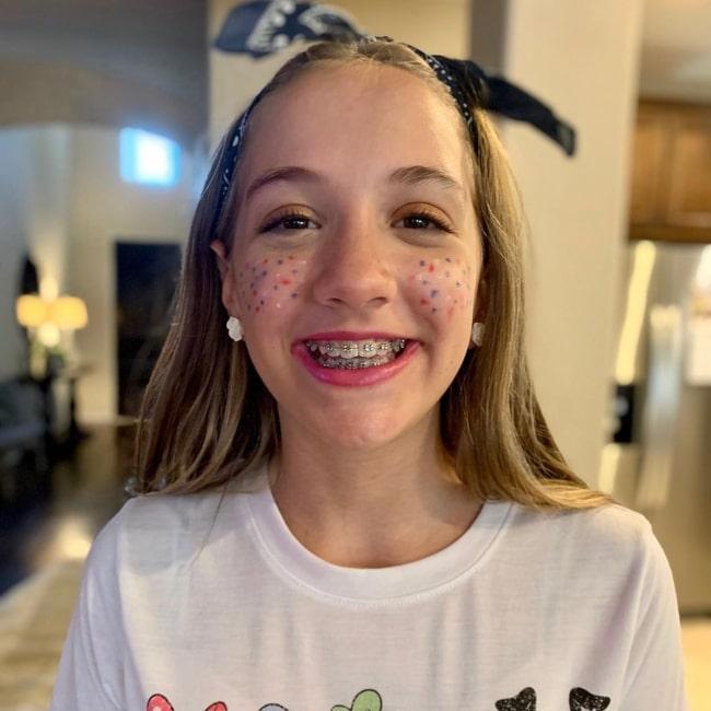 Annelise CraftyGirls as seen in a picture taken in July 2020