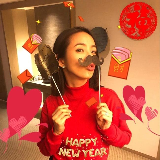 Ariel Lin as seen in a picture that was taken in February 2019