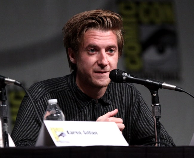 Arthur Darvill as seen while speaking at the 2012 San Diego Comic-Con International in San Diego, California