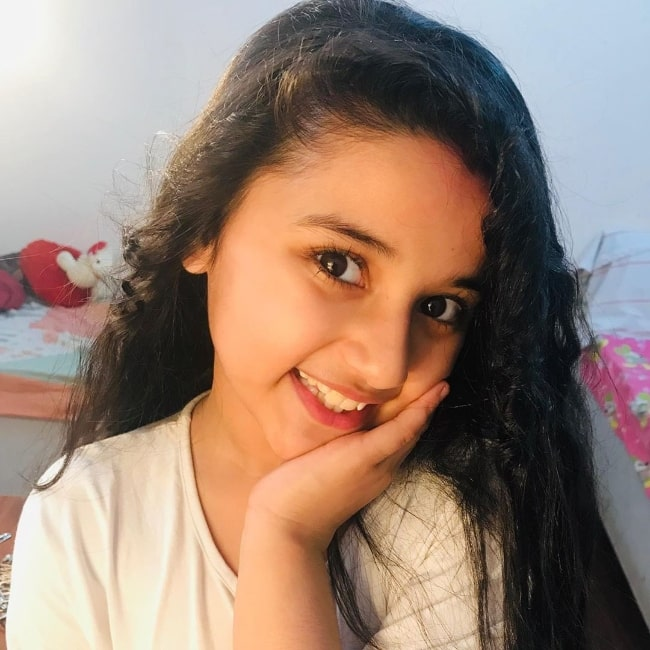 Aurra Bhatnagar as seen while smiling for the camera in Mumbai, Maharashtra in July 2020