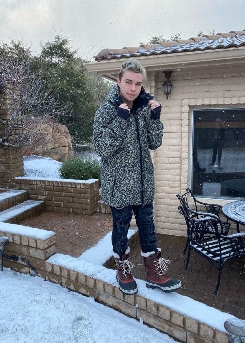 Austin Sprinz as seen in a picture taken in Scottsdale, Arizona in January 2020
