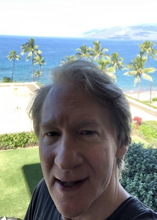 Bill Maher in an Instagram selfie from December 2019