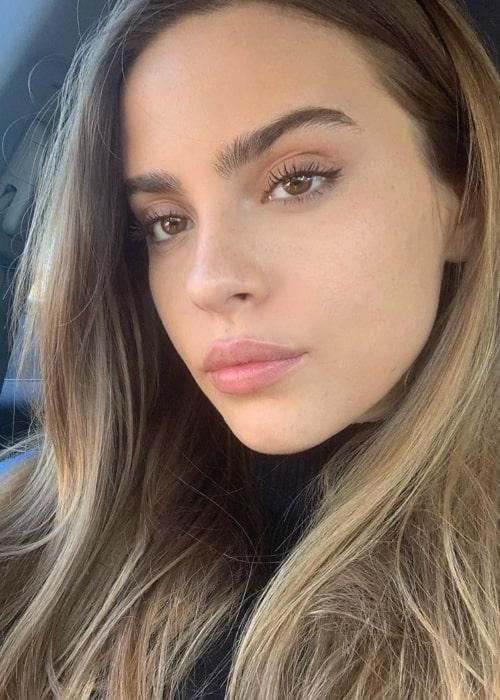 Bridget Satterlee as seen in a selfie that was taken in December 2019