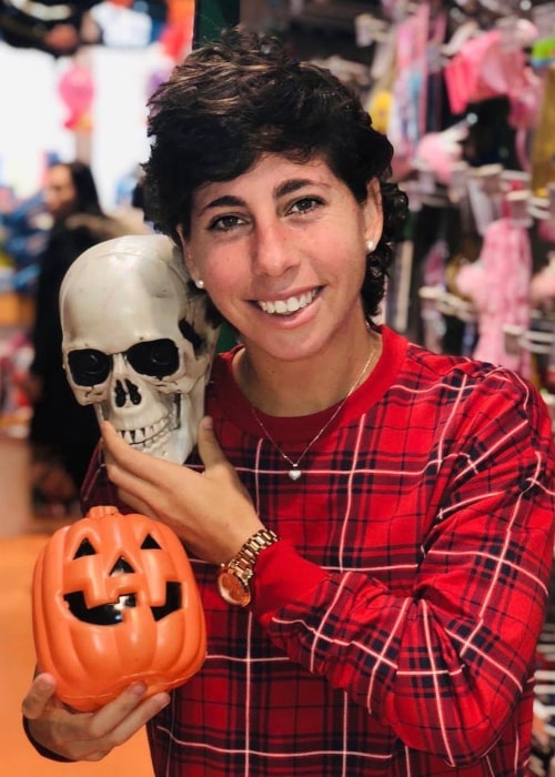 Carla Suárez Navarro as seen in an Instagram Post in October 2018