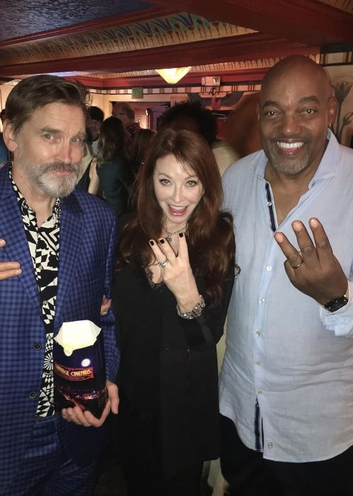 Cassandra Peterson at the premiere of the film 3 from Hell (2019) in September 2019