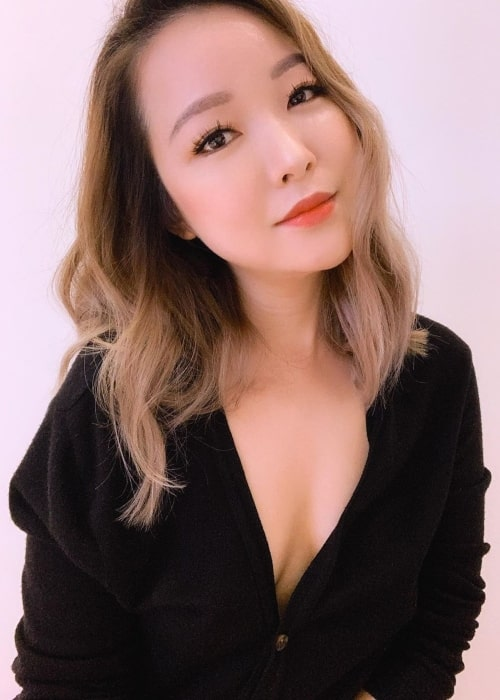 Charlet Chung as seen in a picture that was taken in January 2020