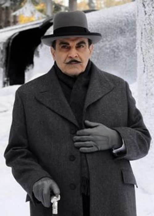 David Suchet as seen in the TV episode of Poirot titled Murder On The Orient Express (2010)