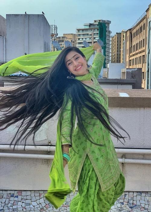 Dhanashree Verma as seen in an Instagram Post in June 2020
