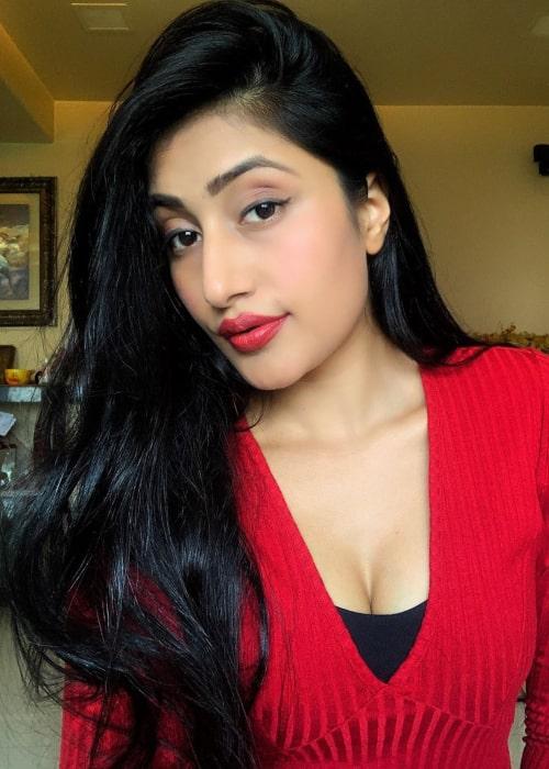 Dhanashree Verma in an Instagram selfie from July 2020