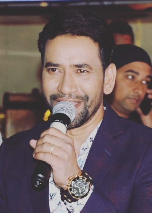 Dinesh Lal Yadav in January 2020