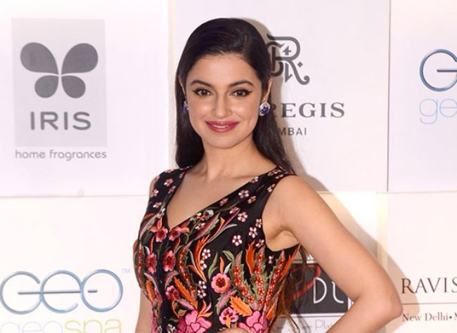 Divya Khosla Kumar as seen while posing for the camera at the Asia Spa Awards 2017