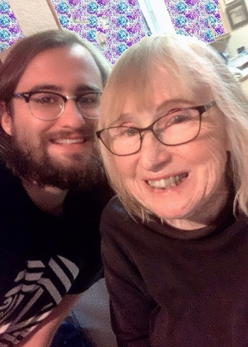 Drew Monson as seen in a selfie that was taken with his grandmother in November 2019