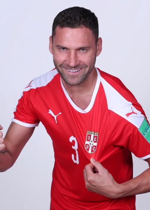 Duško Tošić as seen in an Instagram Post in June 2018