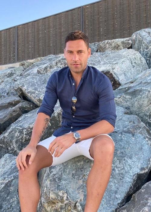 Duško Tošić as seen in an Instagram Post in March 2020