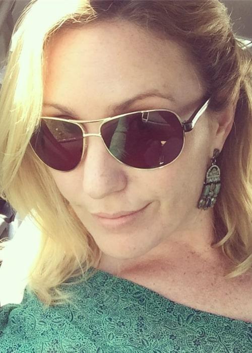 Elise Strachan in an Instagram selfie from July 2017