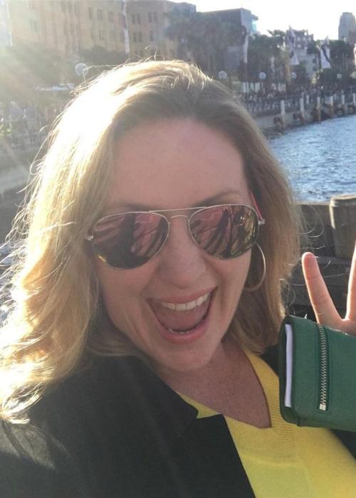 Elise Strachan in an Instagram selfie from July 2019