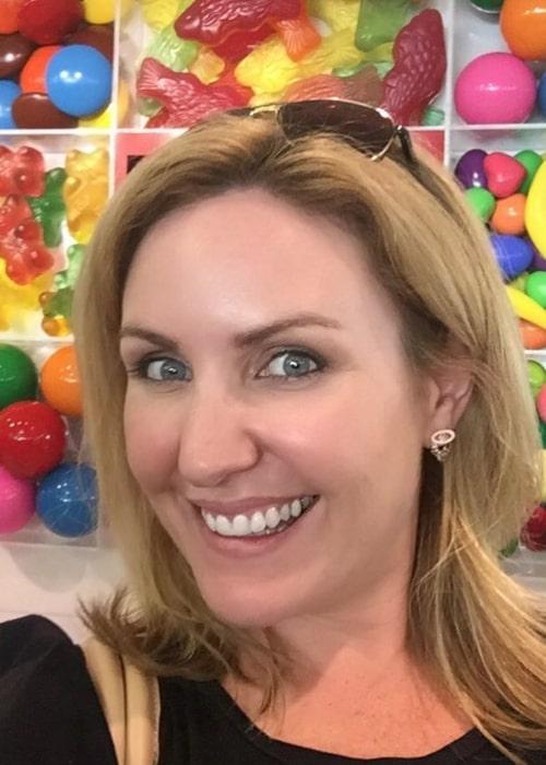 Elise Strachan in an Instagram selfie from October 2016