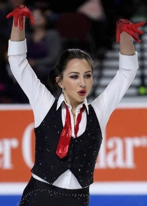 Elizaveta Tuktamysheva as seen in an Instagram Post in May 2020