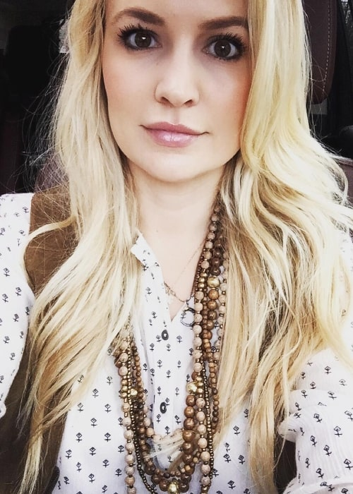 Emily Maynard as seen while taking a selfie in December 2015