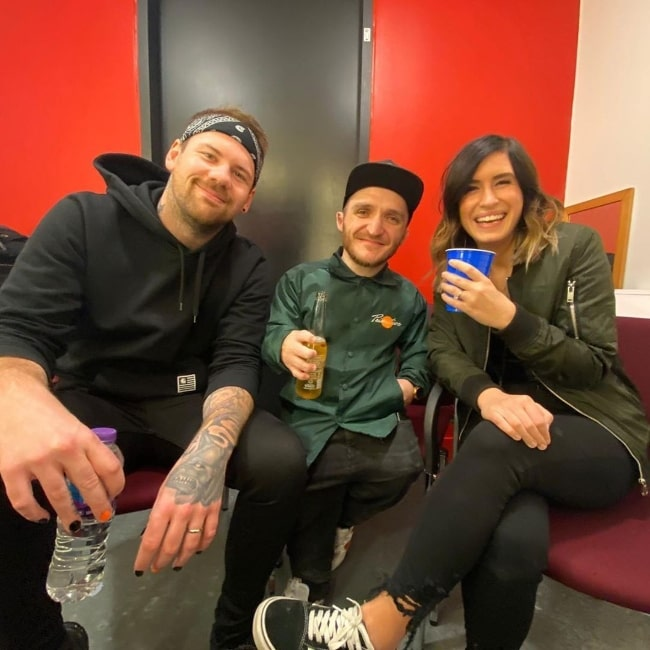 From Left to Right - Caleb Shomo, Leigh Gill, and Fleur Shomo in March 2020