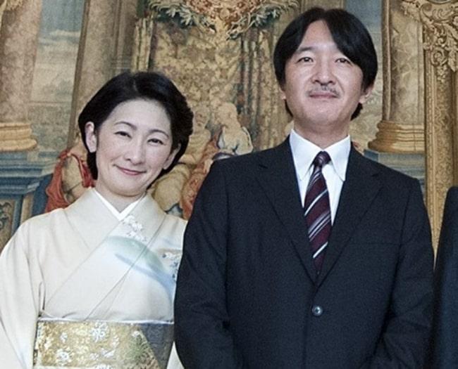 Fumihito, Prince Akishino and Princess Kiko in 2016