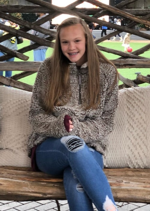 Hailey Greer as seen in a picture that was taken in September 2019