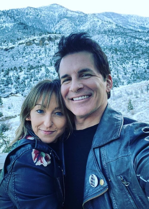 Hal Sparks and Summer Soltis, as seen in January 2020